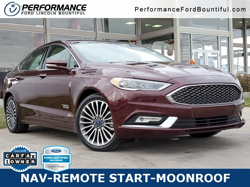 Ford Certified Pre Owned >> Certified Pre Owned 2017 Ford Fusion Energi Platinum With Navigation